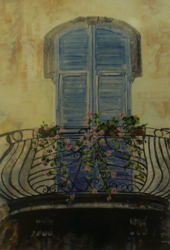 #Tuscan window  by Josephine Jagger-Manners