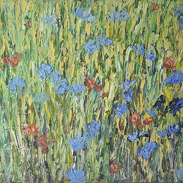 #Cornflowers II  by Alistair Drake