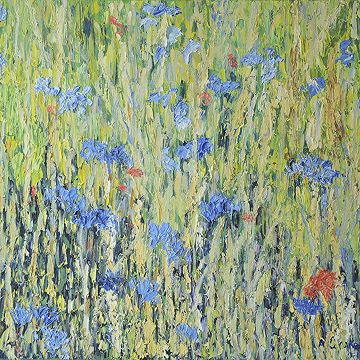 #Cornflowers I  by Alistair Drake