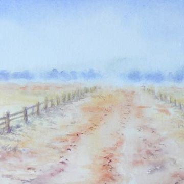 #Wattagan Creek Road  by Judy Whitlock